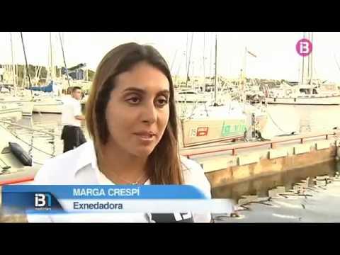 La medallista olímpica Marga Crespí, madrina del 'Pinyol Vermell'