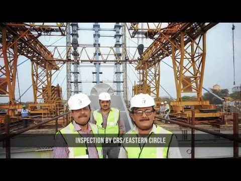 BARDDHAMAN CABLE STAYED BRIDGE ERECTION
