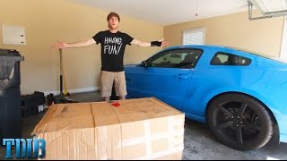 WHAT'S IN THE BOX?!-Custom 240sx Part Unboxing!(Ep.23) by That Dude in Blue