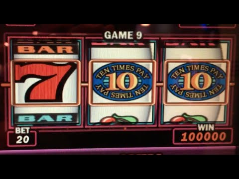 **HUGE 555xBet WIN** on 10 TIMES Pay ✦LIVE PLAY✦ Slot Machines in Las Vegas