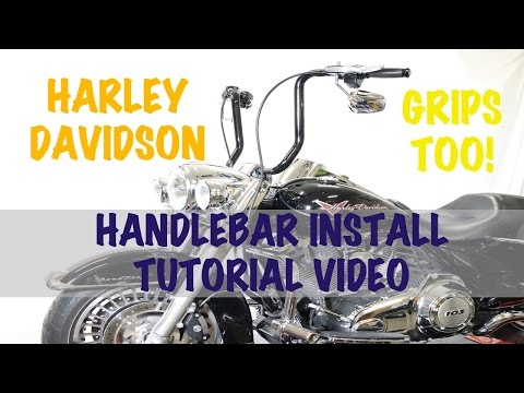 Install Tall (Ape) 16″ Handlebars on Harley Davidson Road King & Other Models