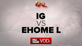 EHOME.L vs IG, game 2