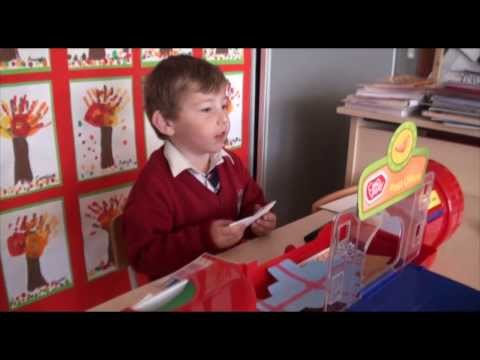 eoin - 7 November 2013 / Navan, Co. Meath - Inaugurated in 2012 by the President of Ireland Michael D. Higgins, Scoil Naomh Eoin is a bustling primary school in the...