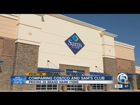 Comparing Costco and Sam's Club