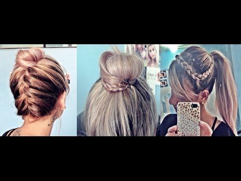 Aprenda 3 penteados fáceis para o verão