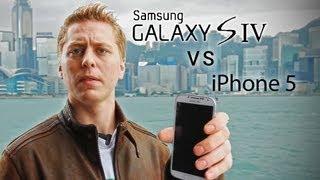 Samsung Galaxy S4 Vs IPhone 5 Drop Test!