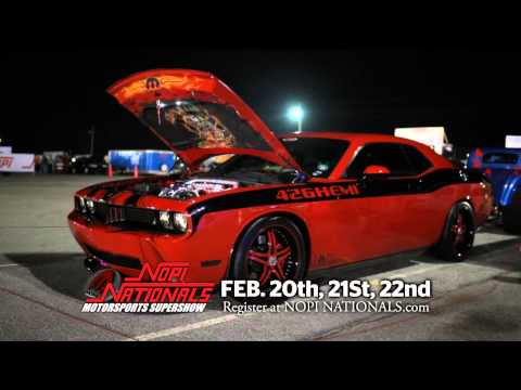 NOPI NATIONALS Motorsports Supershow Tampa/St Petersburg Feb 20-21-22