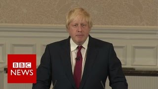 Boris Johnson out of contest for Conservative Party leadership