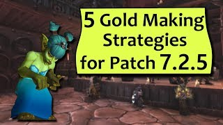 Gold Making in 7.2.5! Patch 7.2.5 is almost upon us (likely a June 13th release) and like all patches the Auction House game will shift! Check out 5 tips for...