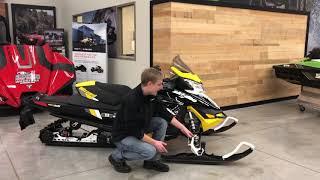 4. 2017 Ski-doo MXZ Blizzard 600 E-TEC