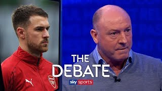 Are Arsenal making a mistake letting Aaron Ramsey leave for free?   The Debate   McMahon & Schwarzer