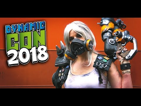 Dynamiccon 2018 Netherlands Cosplay Music Video