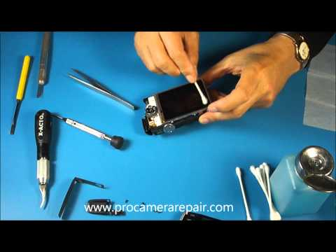 How to the Replace LCD Screen on the Canon PowerShot SD870 IS Digital Camera.