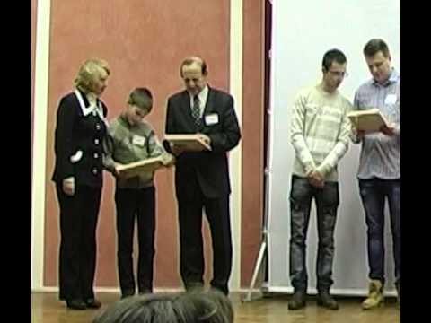 Торжественное закрытие I конкурса, 17 декабря 2014 г. Видео Эдуарда Навогонского