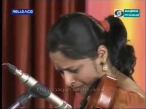 Ragam – Ranjani – Akkarai Subbalakshmi.