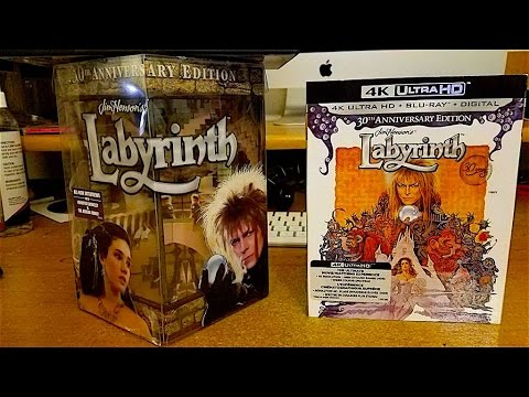 Labyrinth 30th anniversary Limited Edition Gift Set Unboxing and Review
