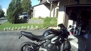 7. 2011 Ninja 650r review and mods