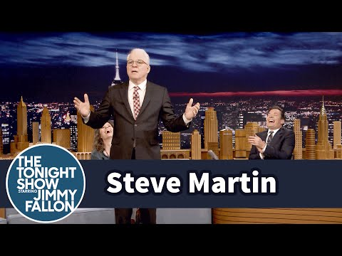 Steve Martin Reflects on His First StandUp Set in 35