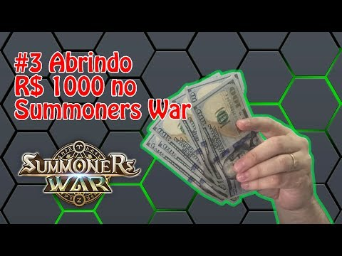 Chipart - Summoners War #3 - Abrindo R$ 1.000,00 em Packs
