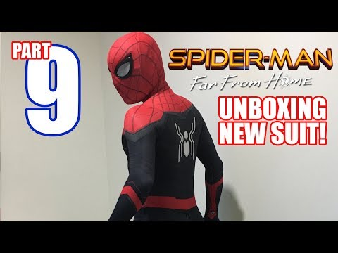 Unboxing Spiderman Far From Home Suit!!!