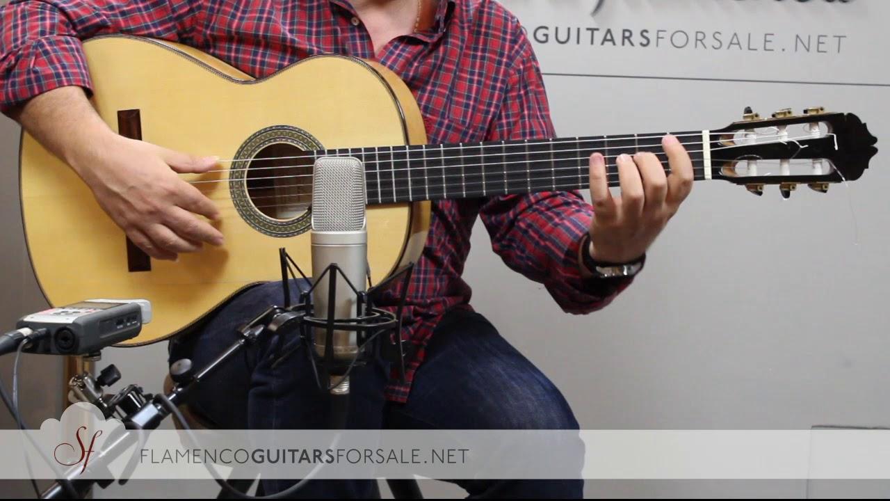 VIDEO TEST: Antonio Marín 2011 nº 661 flamenco guitar for sale
