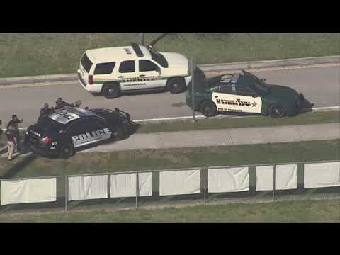 Students running from scene of school shooting in Parkland, Florida