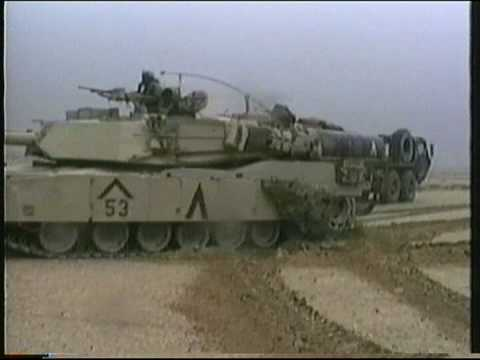Abrams - US M1 Abrams surprise Iraqi Republican guard Units and Overwhelm them in the Battle known as 73 Easting, Gulf War 1991.