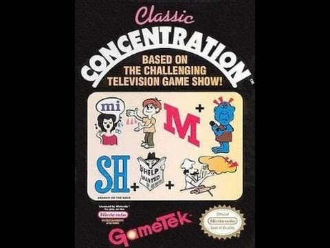classic concentration nes puzzle answers