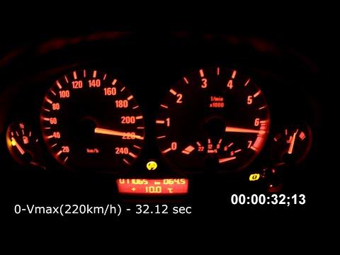 BMW E46 330i Acceleration Test
