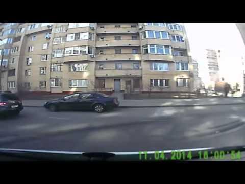 Нелепая авария 11 04 2014