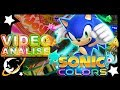 videoan lise Sonic Colors A Aventura Do Mega Drive No N