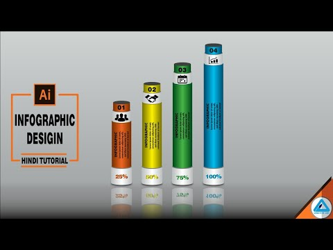 Illustrator Hindi Tutorial | Infographic Design