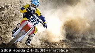 9. 2009 Honda CRF250R - Motocross Bike First Ride