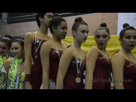 """Entrega de medallas del II Torneo de Gimnasia Rítmica """"La Higuerita"""""""
