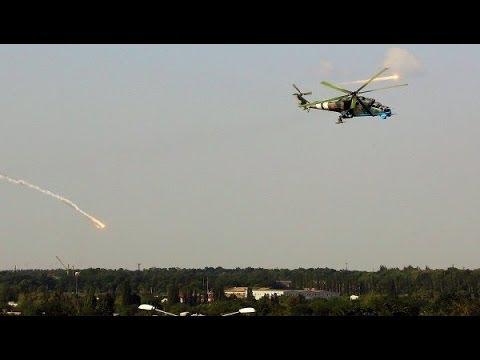 Расстрел в Славянске