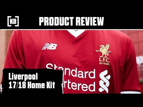 Liverpool 17/18 Home Kit Product Review | Kitbag