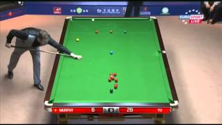 Shaun Murphy - Yu Delu (Frame 6) Snooker Shanghai Masters 2013 - Round 1