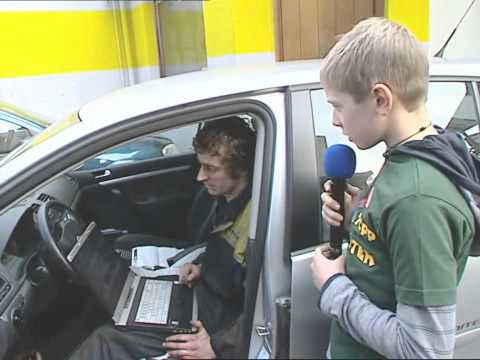 Tipp Topp Reporter: Beruf des Kfz-Technikers