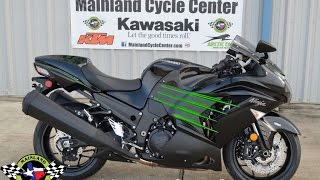 4. $14,999:  2017 Kawasaki ZX14R Metallic Spark Black Overview and Review