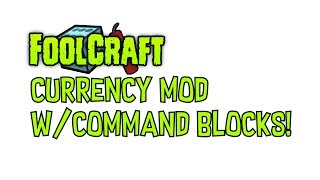 Just used my old technique for buying money on my Foolcraft server, It's actually really cool! :DCOMMAND BLOCK 1 (arrow facing next command block)/give @p[r=10,lm=5] modcurrency:banknote 64COMMAND BLOCK 2  (Set to chain, unconditional and always active)/xp -5l @p[r=15,lm=5]Thanks for watching!
