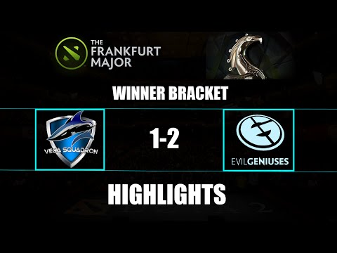 The Frankfurt Major: EG 2-1 Vega Squadron Highlights Winner Bracket