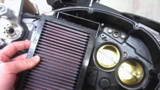 8. Aprilia Tuono 1000 R Air Filter Replacement