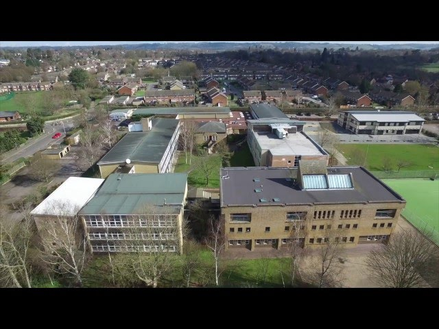 2017 Aerial images of Invicta Grammar School