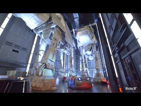 Star Wars Ride - Rise of the Resistance Trackless Dark Ride
