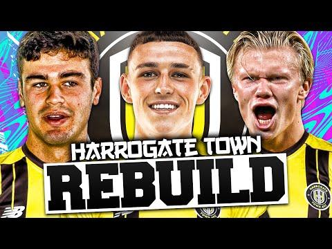 REBUILDING HARROGATE TOWN!!! FIFA 21 Career Mode