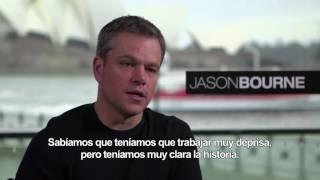 Jason Bourne. Entrevista con Matt Damon