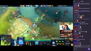 Arteezy stream Storm Spirit 07.09.15 (webcam+chat)