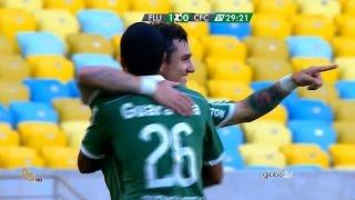 Gols do jogo Fluminense 2 x 0 Coritiba - 5ª Rodada Brasileirão 2015 - 04/06/2015.