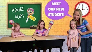 Video New Kid at Toy School with Addy Maya & Avery MP3, 3GP, MP4, WEBM, AVI, FLV November 2018