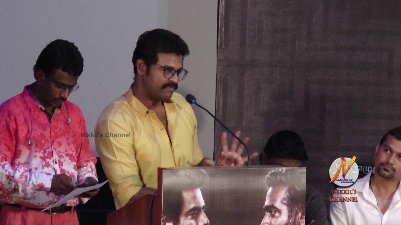 Prem Speech at Vikram Vedha Press Meet Event